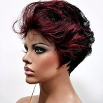 MD-GRETEL: SHORT LOOSE CURLY TAPERED BACK WIG